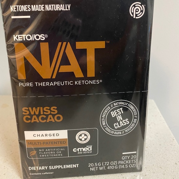 Swiss cacao NAT charged ketones